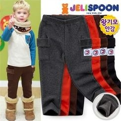 JELISPOON - Boys Cargo-Pocket Pants