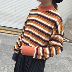 Dute - Striped Oversized Sweater