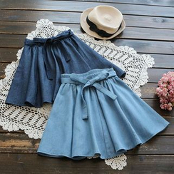 YOYO - Denim Mini Skirt