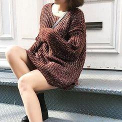 Fancy Room - Long-Sleeve Long Sweater