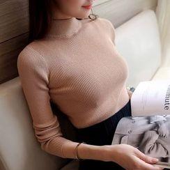 Cotton Candy - 小高領毛衣
