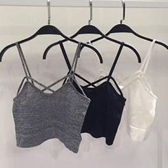 RASA - Strappy Cropped Camisole Top