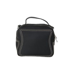 DABAGIRL - Zipped Studded Square Satchel