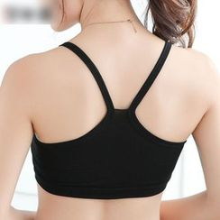 Meigo - Y-Strap Back Bra Top