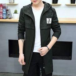 DTT - Number Hooded Jacket