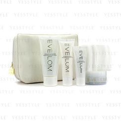 Eve Lom - Travel Essentials Collection: Cleanser 30ml + Morning Time Cleanser 50ml + Rescue Mask 15ml + TLC Radiance Cream 25ml