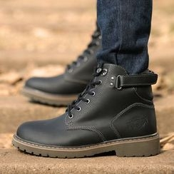 MR.GONG - Genuine Leather Work Boots