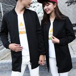 Bay Go Mall - Couple Matching Trench Jacket