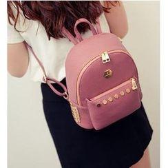 Merlain - Studded Backpack