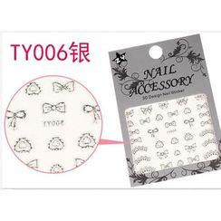 Benlyz - 3D Nail Sticker (TY-6S)