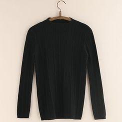 11.STREET - 小高领针织套衫
