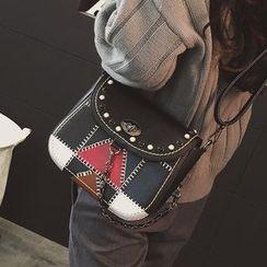 Rosanna Bags - Color Panel Crossbody Bag