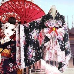 Sunny Doll - 碎花和服角色扮演服装