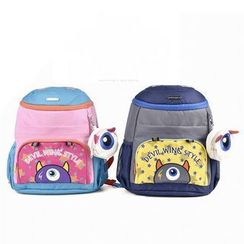 Full House - Kids Printed Nylon Backpack