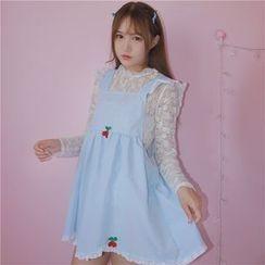 GOGO Girl - Frill Trim Sleeveless Dress