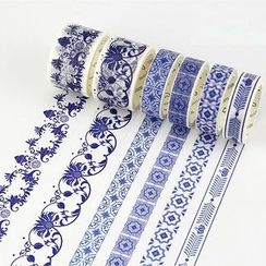 YUNO - Porcelain Print Decorative Tape