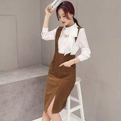 NINETTE - Set: Blouse + Jumper Skirt