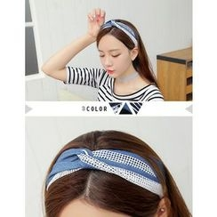 soo n soo - Mesh-Trim Hair Band