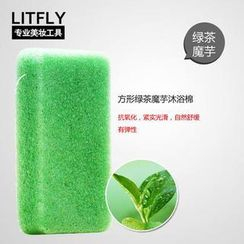 Litfly - Natural Konjac Sponge (Green Tea)