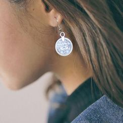 HEDGY - Coin Drop Earrings