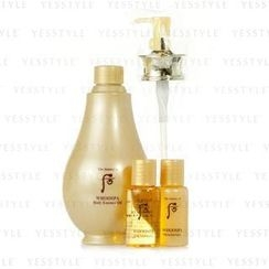The History of Whoo - Whoospa Spcial Set: Body Essence Oil + Moisturizer + Oil Shower