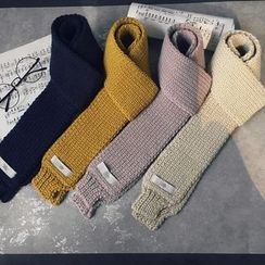 芷蓯夕 - 粗針織圍巾