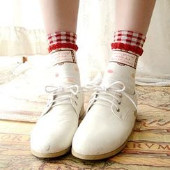 NANA Stockings - Dotted Cotton Socks
