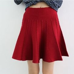 Ranche - A-Line Knit Skirt