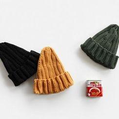 NIPONJJUYA - Chunky-Knit Beanie