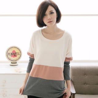CatWorld - Color-Block T-Shirt