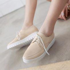 Gizmal Boots - 厚底系带鞋