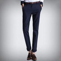 HEIZE - Straight-Leg Pants