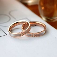 MOMENT OF LOVE - Titanium Steel Ring