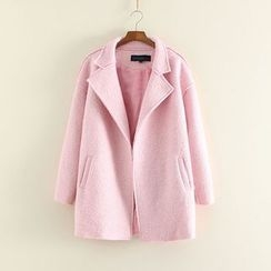 Mushi - Notched Lapel Coat