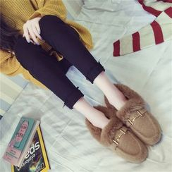 QQ Trend - Furry Loafers