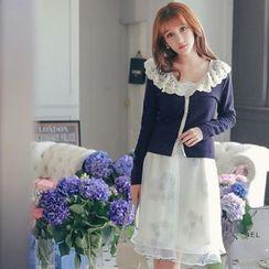 Tokyo Fashion - Lace Collar Cardigan