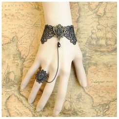 Amina - 仿旧蕾丝戒指手镯
