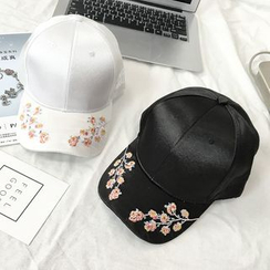 FROME - Flower Embroidered Baseball Cap