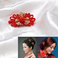 Paparazzi - Knot Bridal Hair Clip