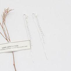 Love Generation - Star Sterling Silver Earrings