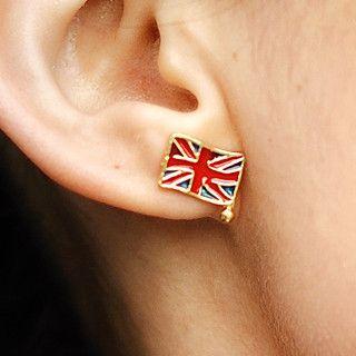 59 Seconds - Union Jack Earrings