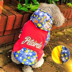 Pet Sweetie - Pet Star Printed Hooded Costume