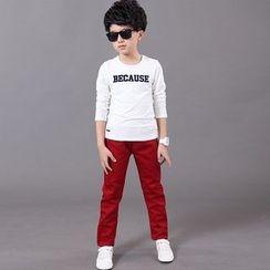 Famula - Kids Slim-Fit Pants