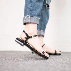 VIVIER - Faux-Pearl Detail Sandals