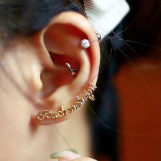 chuu - Lettering Ear Cuff