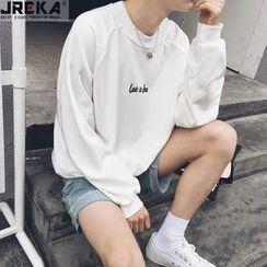 Jacka - Lettering Sweatshirt