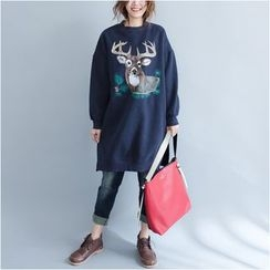 Supernova - Printed Long Sweatshirt