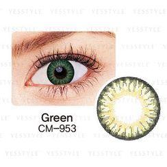 GEO - Magic Color Lens CM-953 (3 Tone Green) [P-0.00 ONLY] P-0.00 (1 piece)