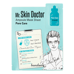 banila co. - Mr Skin Doctor Ampoule Mask Sheet - Pore Care