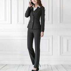 Caroe - Set: Slim-Fit Blazer + Dress Pants